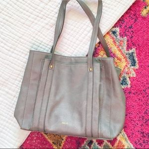 Relic Gray Faux Leather Hand Bag